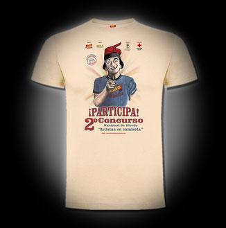 """Conmemorativa 2º Concurso de Diseño """"Artistas en Camiseta"""""""
