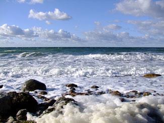 Ostsee Strand Wellen