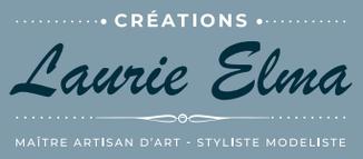 Logo entreprise création de robe de mariée Création Laurie Elma