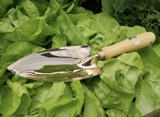 Gartenwerkzeug aus Kupfer bei www.the-golden-rabbit.de