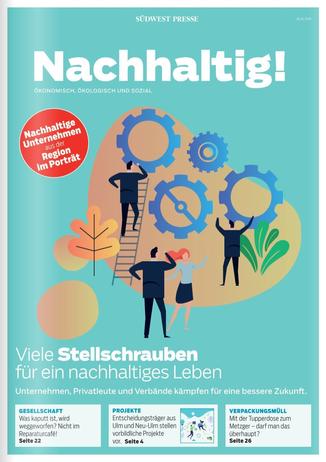 Magazin Titelseite Nachhaltig 2019