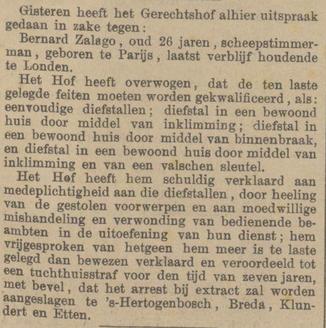 Provinciale Noordbrabantsche en 's Hertogenbossche courant 27-02-1886