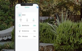 evon Smart Home Garten husqvarna