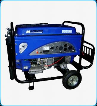 Generador Portátil Mpower mod. 6500