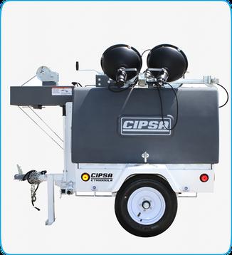 Torre de iluminacion Diesel CIPSA CTI6500 Maxi Light