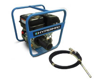 Vibrador para Concreto con motor a gasolina Felsa