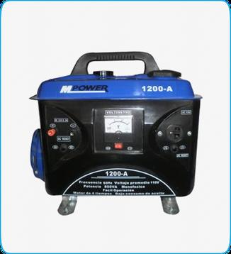 Generador Portátil Mpower mod. 1200-A