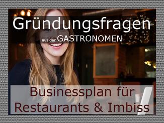 Businessplan Gastronomie und Imbiss