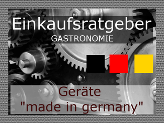 "TGastronomietechnik ""made in germany"""