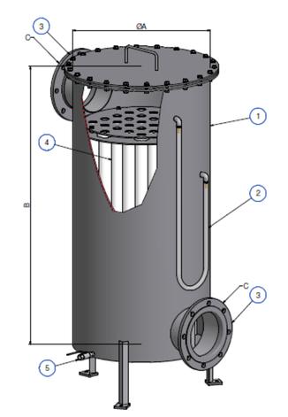 Remoción de partículas biogas - Aqualimpia Engineering