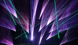 Laser Show Hochzeit Rodgau