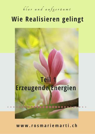 E-Book Wie Realisieren gelingt Teil 1