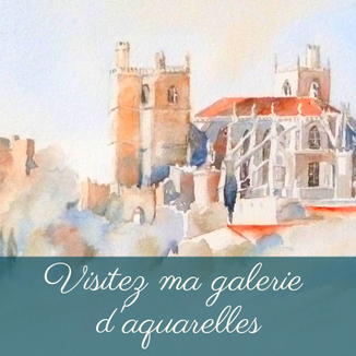 Aquarelles Marie Claude Canet