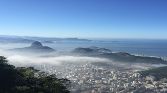 Blick auf Rio vom Corcovado