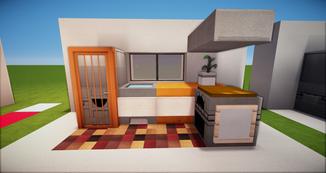 Minecraft Küchenzeile