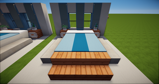 Minecraft Doppelbett