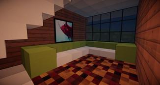 Minecraft Sofa Ecke