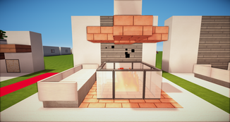 Minecraft Feuerstelle