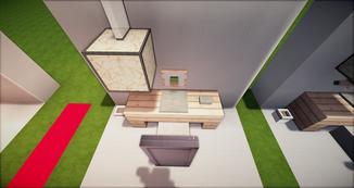 Minecraft Schreibtisch