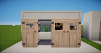 Minecraft Kleiderschrank