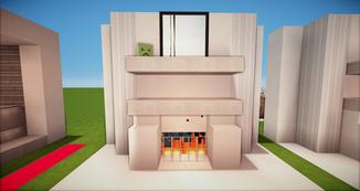 Minecraft Kamin