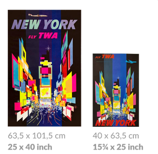 TWA large and small posters