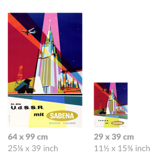 SABENA large and small posters