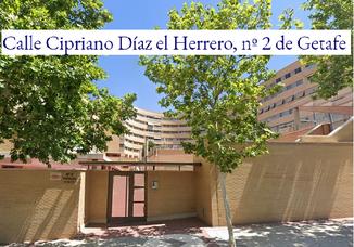 Subasta Calle Cipriano Díaz el Herrero, nº 2 de Getafe