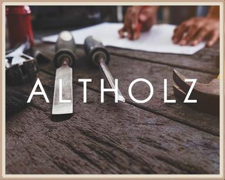 Altholz Tisch aus der Durkowitzer Handwerkstatt