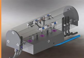 Messvorrichtung für Lagerschale - präzise Messtechnik Knäbel
