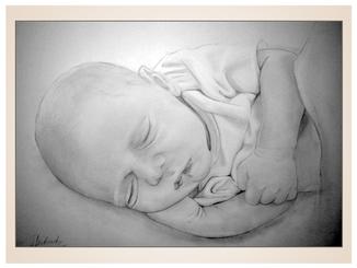 inna-bredereck-auftragsmalerei-kunstwerk-baby-bleistiftzeichnung-schlafen