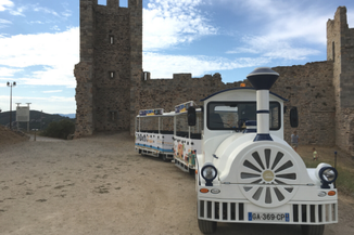 Chateau d'Hyères en petit train électrique