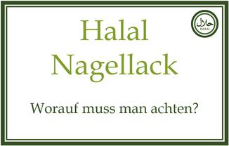 Halal Nagellack kaufen bestellen