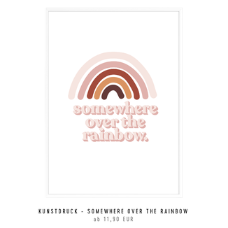 "KUNSTDRUCK ""SOMEWHERE OVER THE RAINBOW"" kaufen"