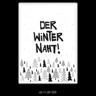"""Kunstdruck """"Der Winter Naht"""" kaufen"""