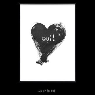 "Kunstdruck ""OUI"" kaufen"