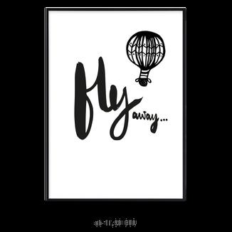 "Kunstdruck ""fly away"" kaufen"