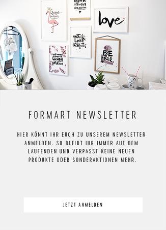 Formart Newsletter bestellen