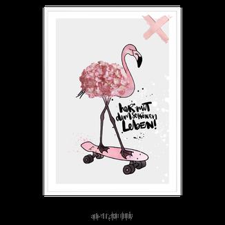 """Kunstdruck """"her mit dem schönen Leben"""" kaufen"""