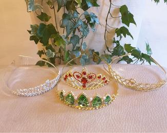 accessoires robe princesse, diademe princesse, bijoux princesse
