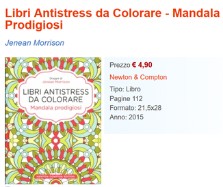Antistress: Mandala prodigiosi