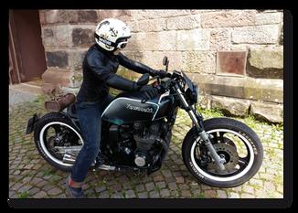 Kawasaki GPZ 550 UT Low Rider, Komplett Umbau, Retro, Vintage, Classic, Kleine Körpergröße, Kleine Mädchen, Kleine Frauen, Kleine Männer, Fahranfänger