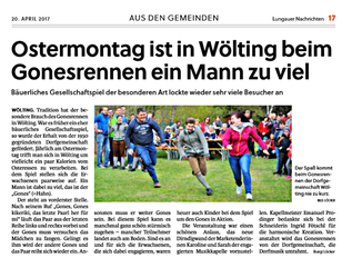 Lungauer Nachrichten 19./20.April 2017