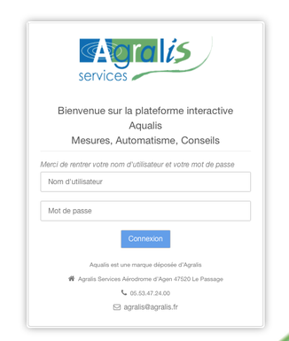 Aqualis, l'interface de gestion de vos cultures avec Agralis