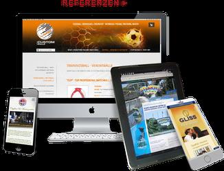 Webdesign & Grafikdesign für mittelständische Unternehmen im Raum Hamburg, Lübeck, Bad Segeberg und bundesweit