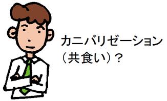 カニバリゼーション(共食い)?