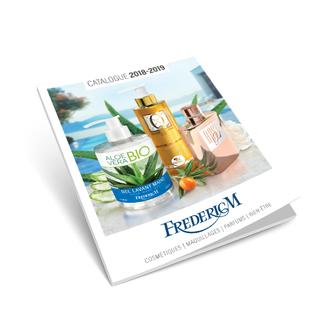 Catalogue Cosmétiques FREDERIC M 2018 - 2019