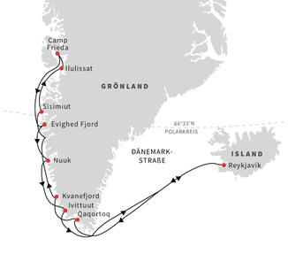 Hurtigruten Grönland