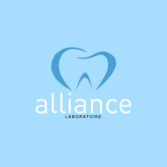 LSZ Communication-Graphiste-Directrice artistique freelance Nantes-Logo-Alliance Laboratoire-Dentaire