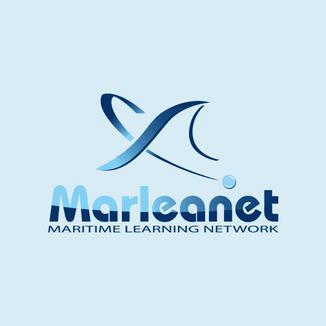 LSZ Communication-Graphiste-Directrice artistique freelance Nantes-Logo-Marleanet-Maritime Learning Network-Concarneau